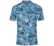 Poloshirt im Hawaii-Design