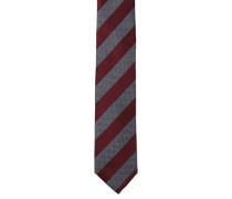 Krawatte reine Seide Streifen Schachbrett-Details