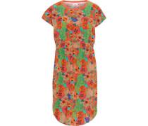 Kleid, tailliert, Blumenmuster,