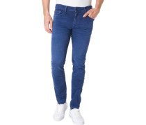 "Jeans "" Taper "", 5 Pocket, uni,"