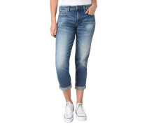 "Jeans ""Kate"" Boyfriend-Fit 3/4-Länge Umschlag-Saum"