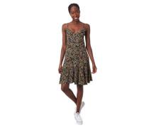 Kleid florales Muster ärmellos