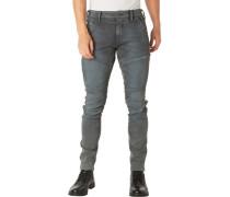 Jeans, Skinny, Reißverschlusstasche,