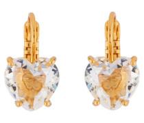 "Ohrhänger ""La Diamantine White Heart"" AILD145D/2 vergoldet"