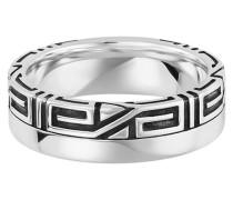 Ring 925/- Sterling Silber rhodiniert Ornament, 64
