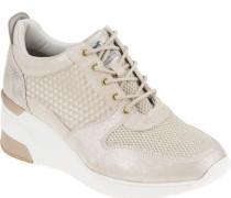Sneaker, glänzend,