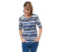 T-Shirt gestreift Allover-Musterung