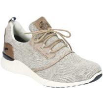 Sneakers, sportliches Design, Strick-Optik,
