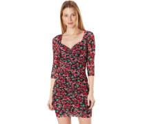 "Kleid ""Dulce"", Eckiger Ausschnitt, Blumen-Muster,"