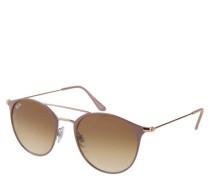 """Sonnenbrille """"RB3546"""", runder Stil, altrosa-roségold"""