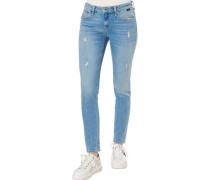 """Skinny Jeans """"Adriana"""", mittlere Leibhöhe, dezente Waschung, für Damen, , W28/L30"""