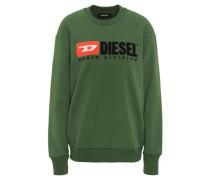 "Sweatshirt ""CREW DIVISION"" Oversized Logo Print"