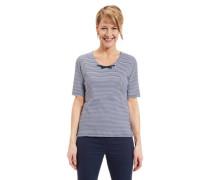 T-Shirt reine Bio-Baumwolle Streifen Schnürung für
