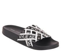 Slides Logo-Print vorgeformtes Fußbett