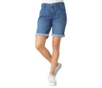 """Jeans-Shorts """"Shorty"""" Label-Patch uni"""