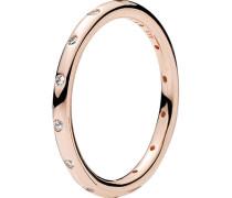 "Ring Tröpfchen ""180945CZ"",  ROSE, 56"