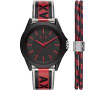 """Herrenuhr """"AX7113"""" mit Armband"""
