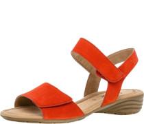 Sandalen, Rauleder, Klettverschluss,