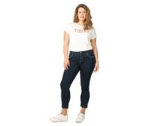 """Jeans """"Louise"""", 7/8-Längelim Fit, Kontrast-Nähte, Große Größen"""