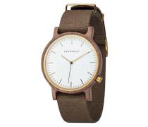 Armbanduhr Walter Walnut Olive WATWWAL7227