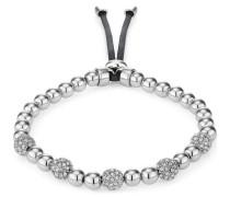 Armband mit Kristallen rhodiniert