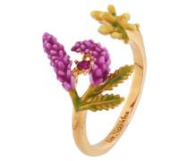 """Ring """"Lavendel"""" AISF604/1 vergoldet"""