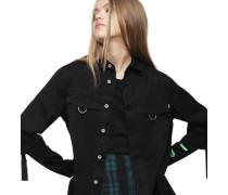 "Hemdbluse ""Floreana"", mit plissiertem Rückenteiletall-Details"