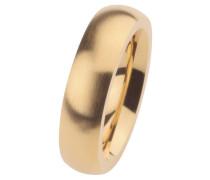 EDvita Ring, Edelstahl Gelb beschichtet R258