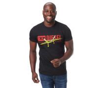 T-Shirt Logo-Print Rundhalsausschnitt reine Baumwolle