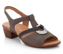 Sandalette, taupe, 8