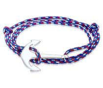 Armband Wickelarmband Anker Maritim Meer 5 Silber