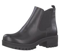 Chelsea Boots Leder Prägung