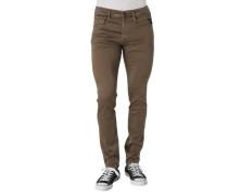 "Jeans ""Anbass"" Regular Fit unifarben"