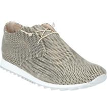 Sneaker, Netz-Struktur, Glitzer-Optikeder-Decksohle,
