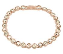 Armband mit Swarovski-Kristallen 49824 rosévergoldet