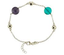 Armband mit bunten Steinen Sterling 5