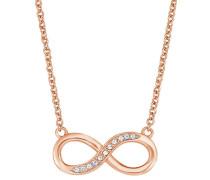"Collier ""Infinity"" rosévergoldet"