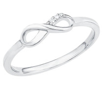 "Ring ""Infinity"" 5 Sterling mit Zirkonia"