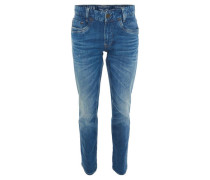 Jeans Regular Fit Tapered Leg Waschung