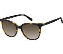 "Sonnenbrille ""FOS 2094/G/S 086 "", Havanna-Look, Cat-Eye,  mm,"