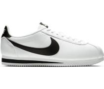"Sneaker ""Classic Cortez"" Leder kontrastfarbene Details"