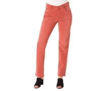 "Jeans ""Cici"" Regular Fit uni Baumwoll-Mix"