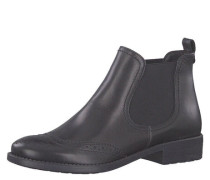 Chelsea Boots Leder Loch-Muster