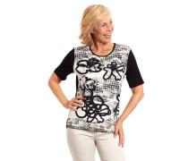 T-Shirt floral geometrisch