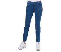 Jeans Comfort 5-Pocket-Stil Strass