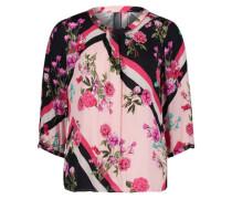 Blüten-Bluse Floral 3/4-Arm
