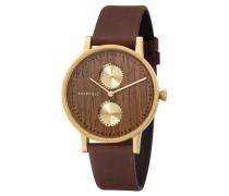 Armbanduhr Clara Shining Wood WATMCLA5513 Chronograph