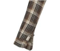 Casual-Hemd regular fit Langarm Button-Down-Kragen Karo M