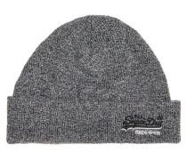 Beanie-Mütze, /weiß