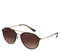 "Sonnenbrille ""RB 4292N 710/13 BLAZE DOUBLE BRIDGE"", Farbverlauf"